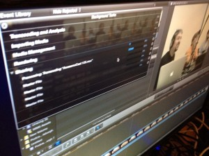 Final Cut Pro X setting up outputs to knock them out