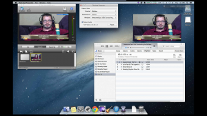 Wirecast and iTunes for 24/7 streamon Justin.tv