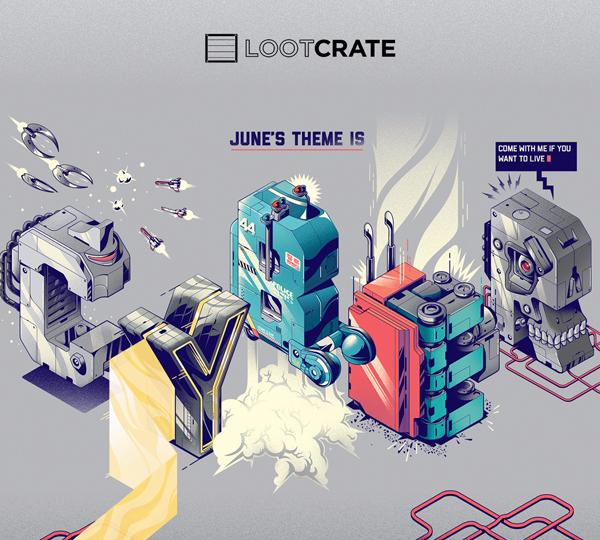 Lootcrate june 2015 cyber