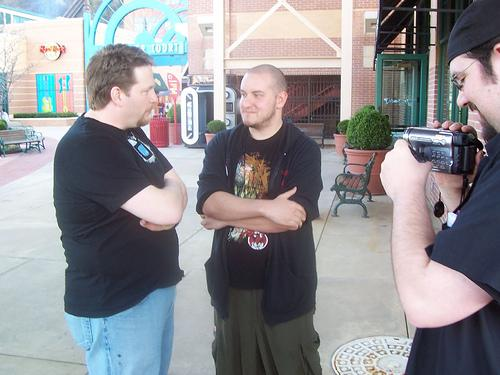 Some guys from a Wrestling Podcast talking with some guy named Chris Brogan in 2007