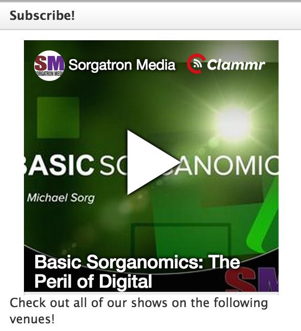 Clammr Widget on SorgatronMedia.com